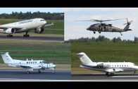 Blackhawk, A330, Spartan, military Beechcraft, private jets in Vilnius