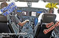 OnBoard Gulfstream G450 Private Jet Training Flight!