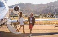 Love is in the air: 10 romantic private jet flights